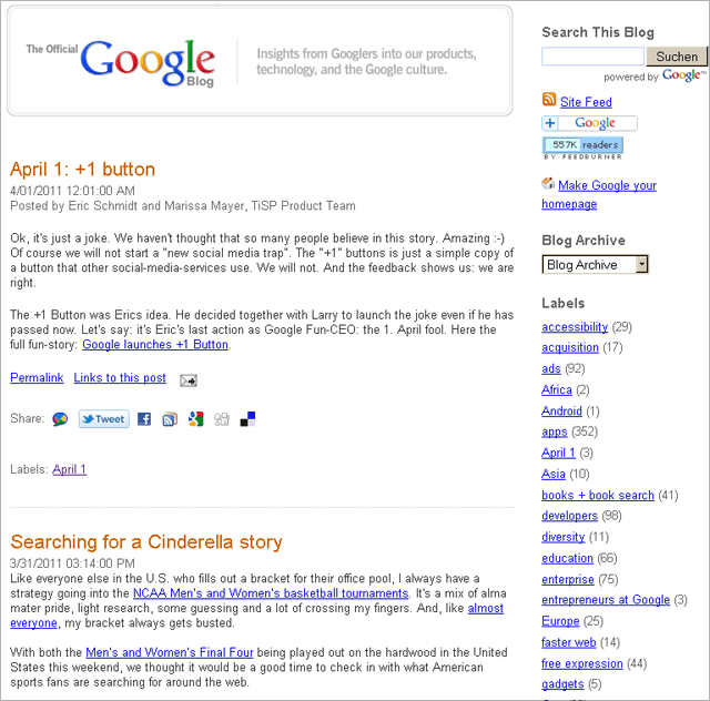 google 1 button png. Google-blog: April fools quot;+1
