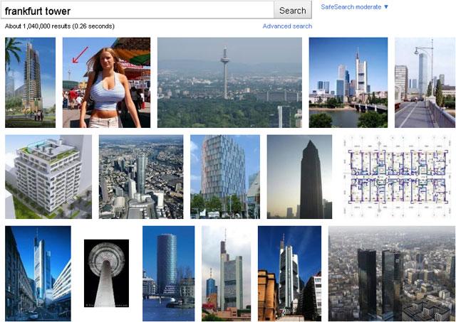 """Screen """"frankfurt tower"""""""