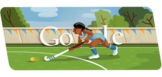London 2012 Hockey Doodle