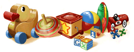Children's Day 2011 - Google Doodle