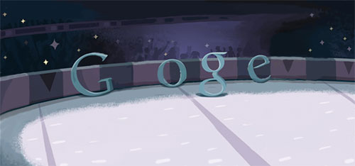 Fencing Doodle without athletes :-)
