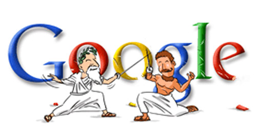 Fencing-Doodle for Olympics 2004 (Athens)