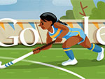 Field Hockey Doodle (London 2012)