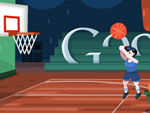 London 2012 Basketball Doodle