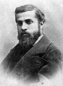 Antoni Gaudi Fotografie (1878)