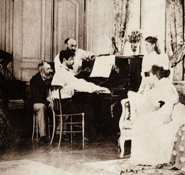 Claude Debussi on Piano (1893)