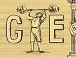 First modern Olympic Games Doodle
